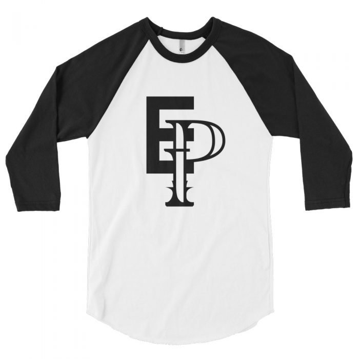 3/4 Sleeve Echo Pilot Alt Logo Baseball Shirt